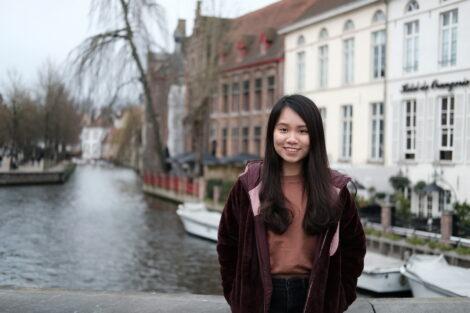 Trang Le in Bruges