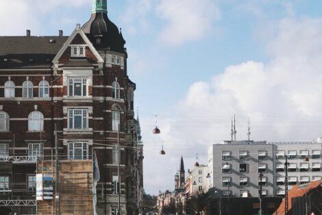 A view of Copenhagen