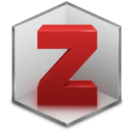 The Zotero logo, a red Z with walls on two sides and a floor